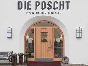 Eingang Gasthaus POSCHT Silz in Tirol