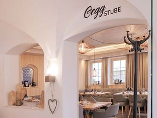 Eingang Oegg Stube Gasthaus POSCHT Silz in Tirol