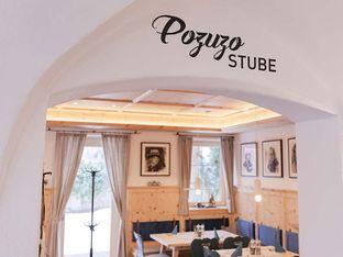 Eingang Pozuzo Stube Restaurant POSCHT Silz in Tirol