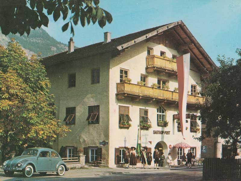 Dorfchronik Gasthof Post Silz